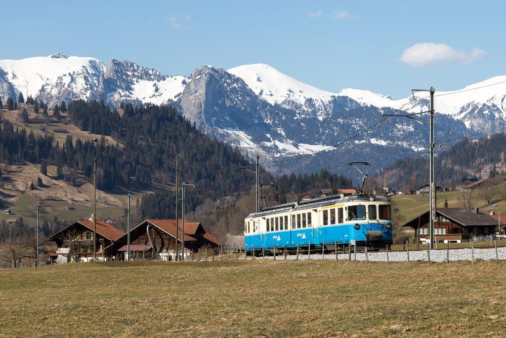 "Blankenburg   CH-BE (Bern)   24.03.2018   MOB-ABDe 8/8 4002 ""Vaud"""