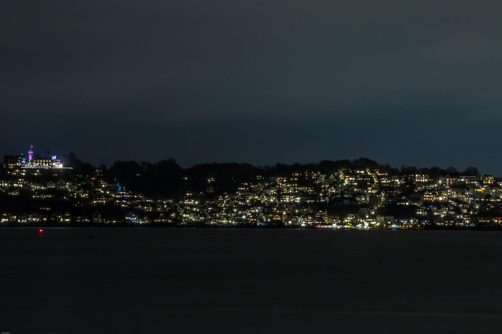 Blankenese bei Nacht