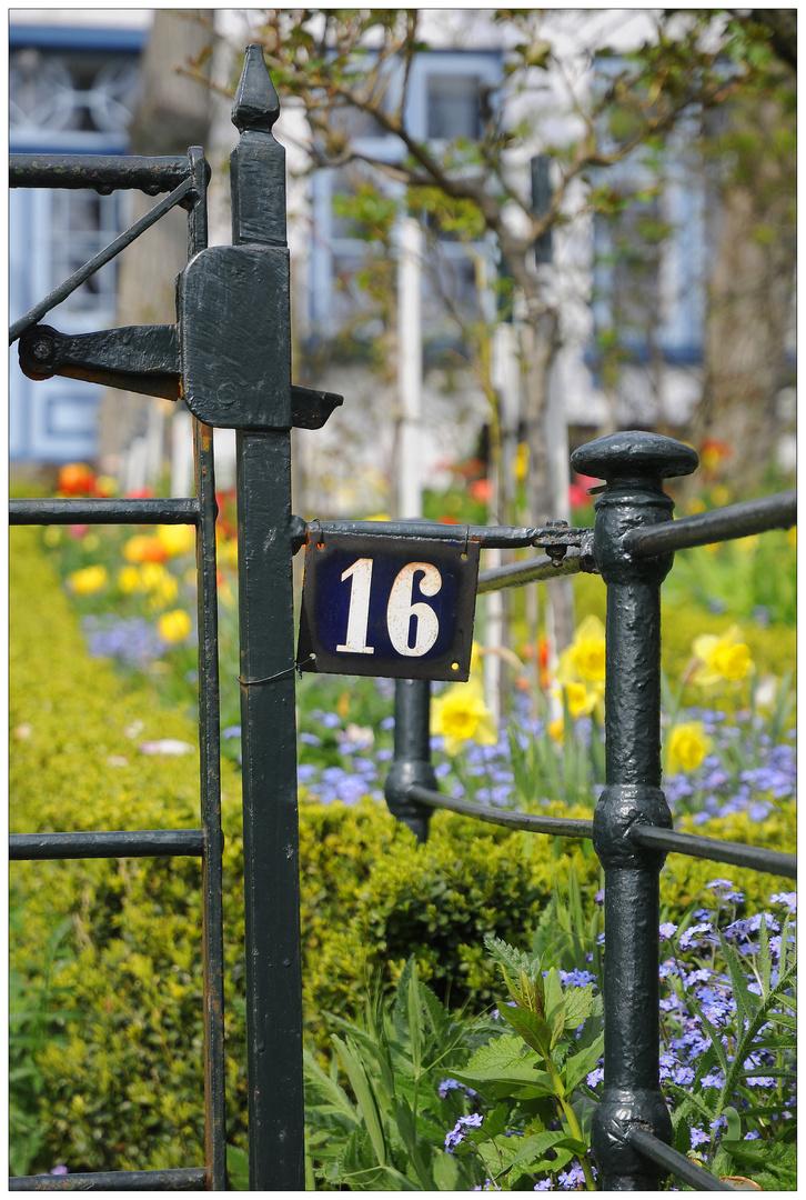 Blankenese, Nr. 16 an der Elbe