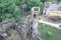 Blarney-Castle von oben