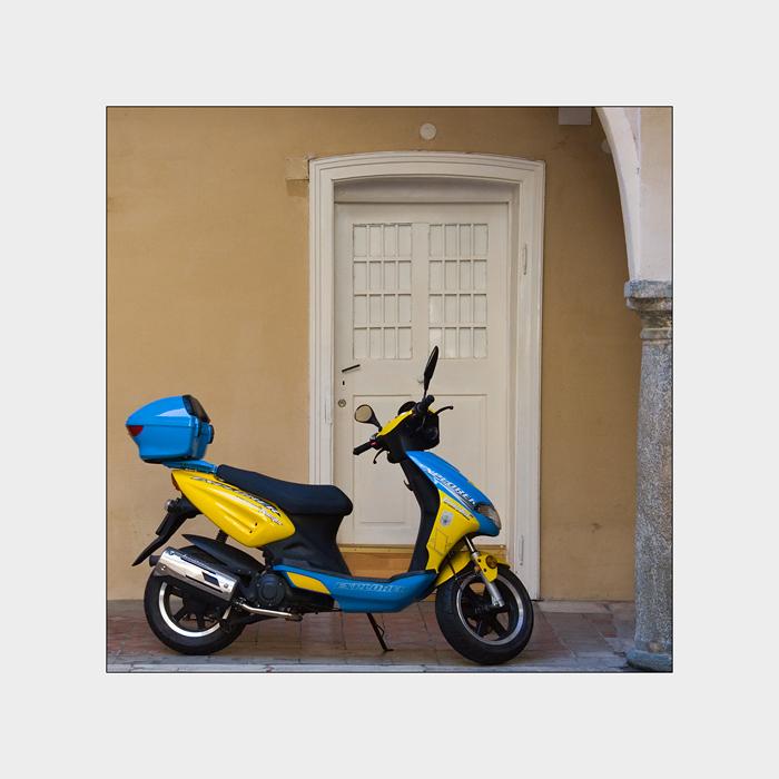 blau - gelb