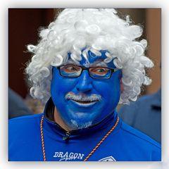 Blau gemacht...