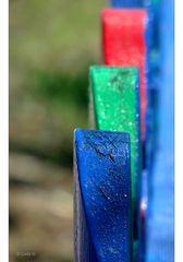 Blau-Grün-Rot