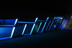 Blau in der Nacht