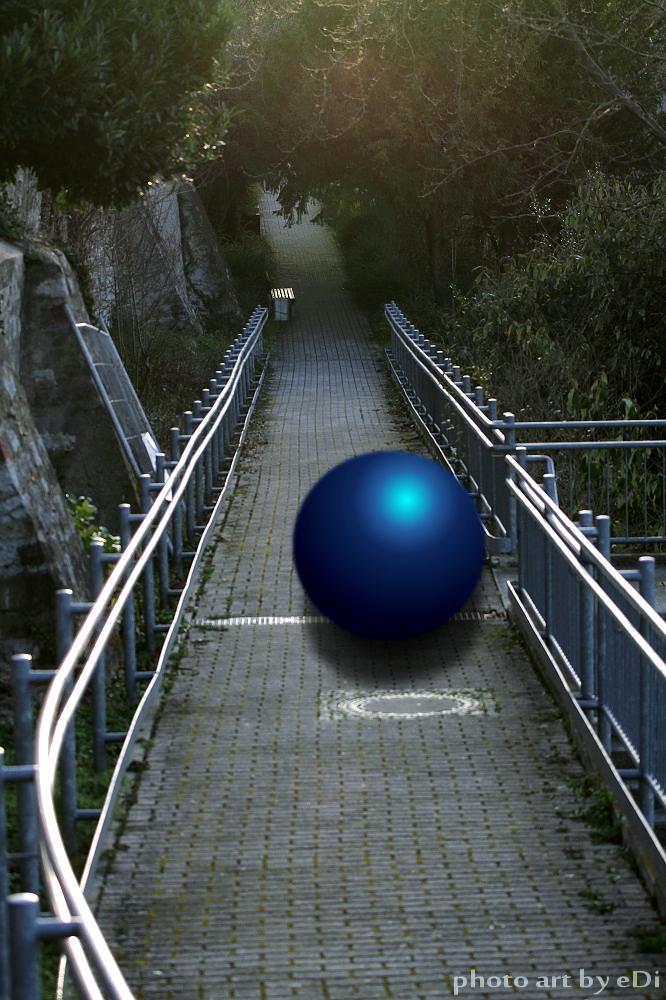 Blau Kugel