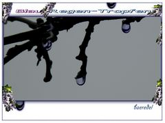 * Blau... Regen...Tropfen *