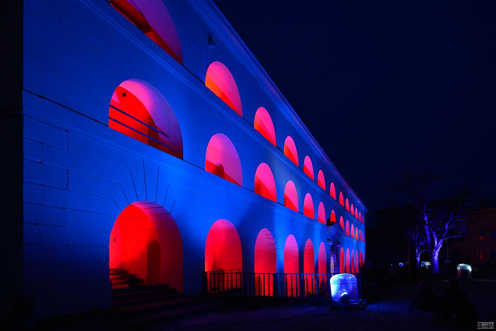 Blau + Rot