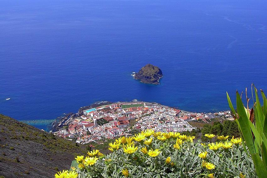 Blau -               Teneriffa (Garachico)/ Azul - Tenerife