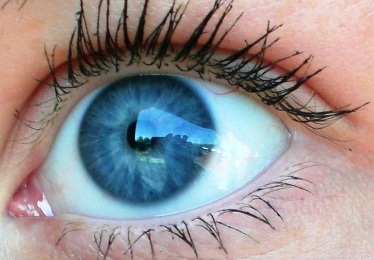 blaue Augen Foto & Bild | fotos von teilen des gesichts