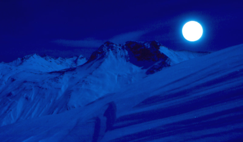 Blaue Berg