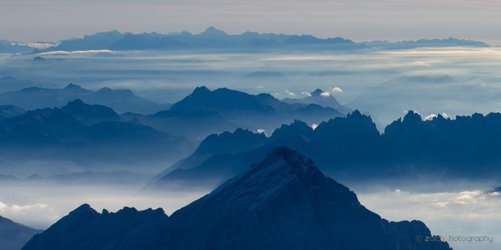 Blaue Berge I