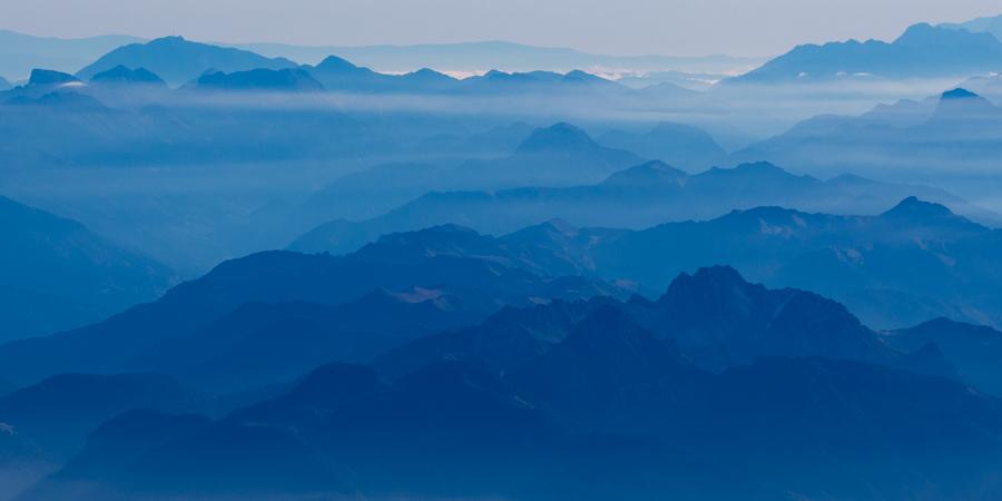 blaue Berge III