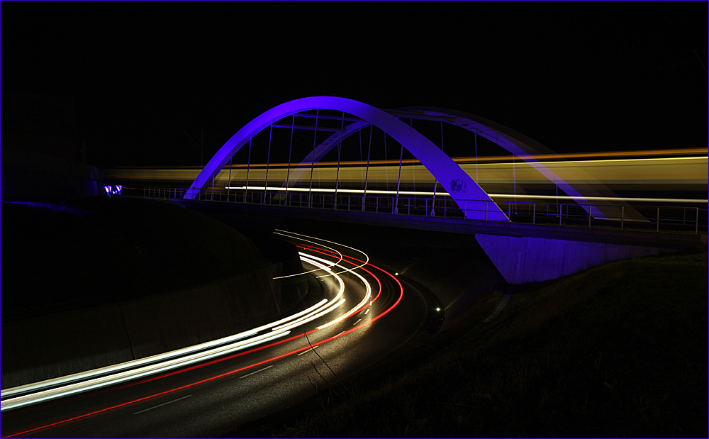 Blaue Brücke III