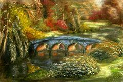 Blaue Brücke  - Stourhead  Stourton