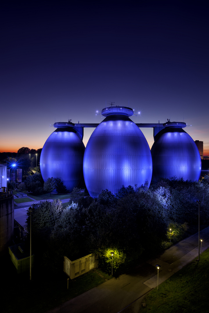 Blaue Eier V – Klärwerk Bottrop