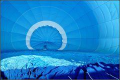 .blaue Hülle.