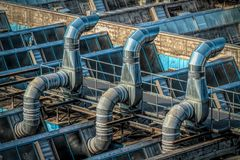 Blaue Industrie 2