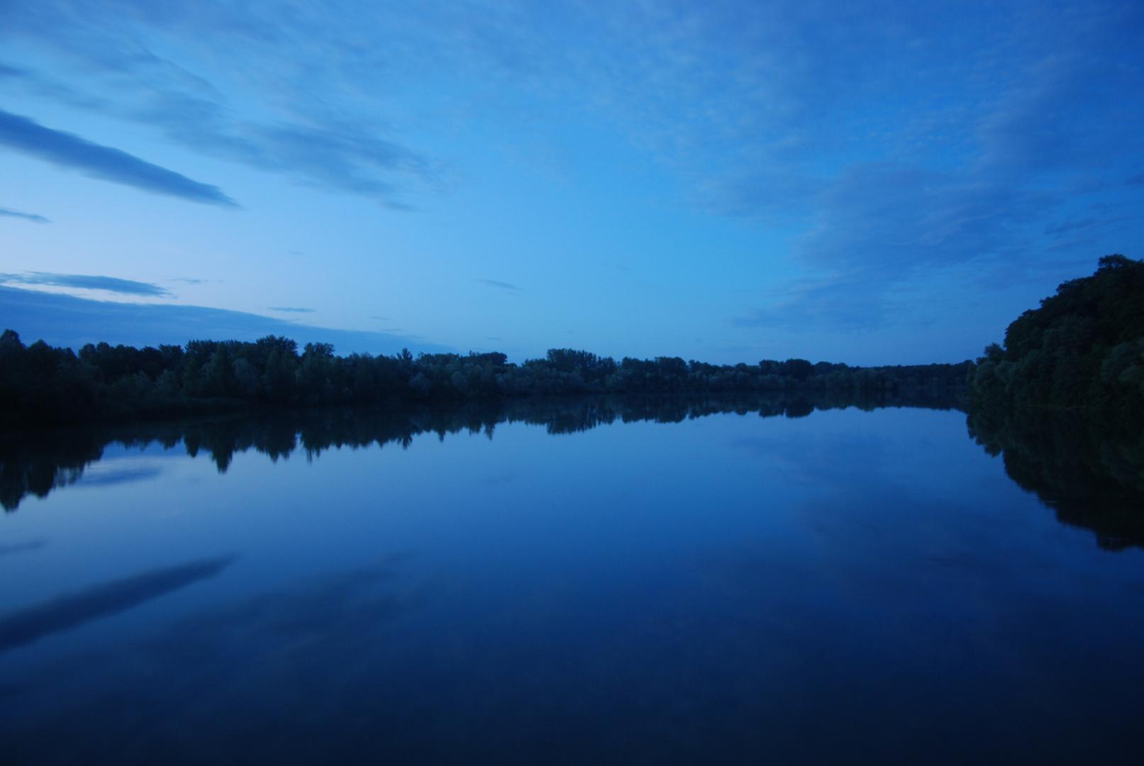 Blaue Isar