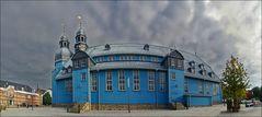* Blaue Kirche **