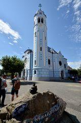 Blaue Kirche / Bratislava