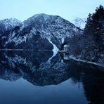 Blaue Lagune II - PLansee im winter