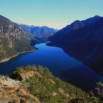 """Blaue Lagune .....  in den Alpen ? - oder  - """" Nur """"... der Plansee"""
