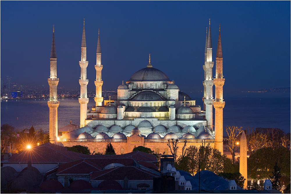 Blaue Moschee...