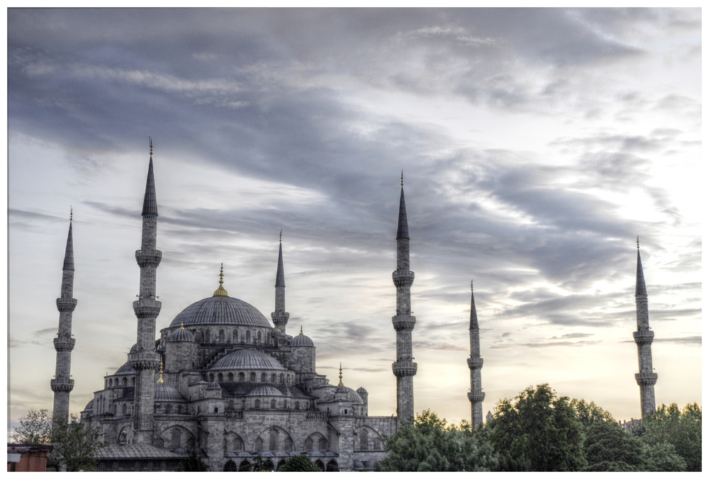 Blaue Moschee Istanbul (HDR)