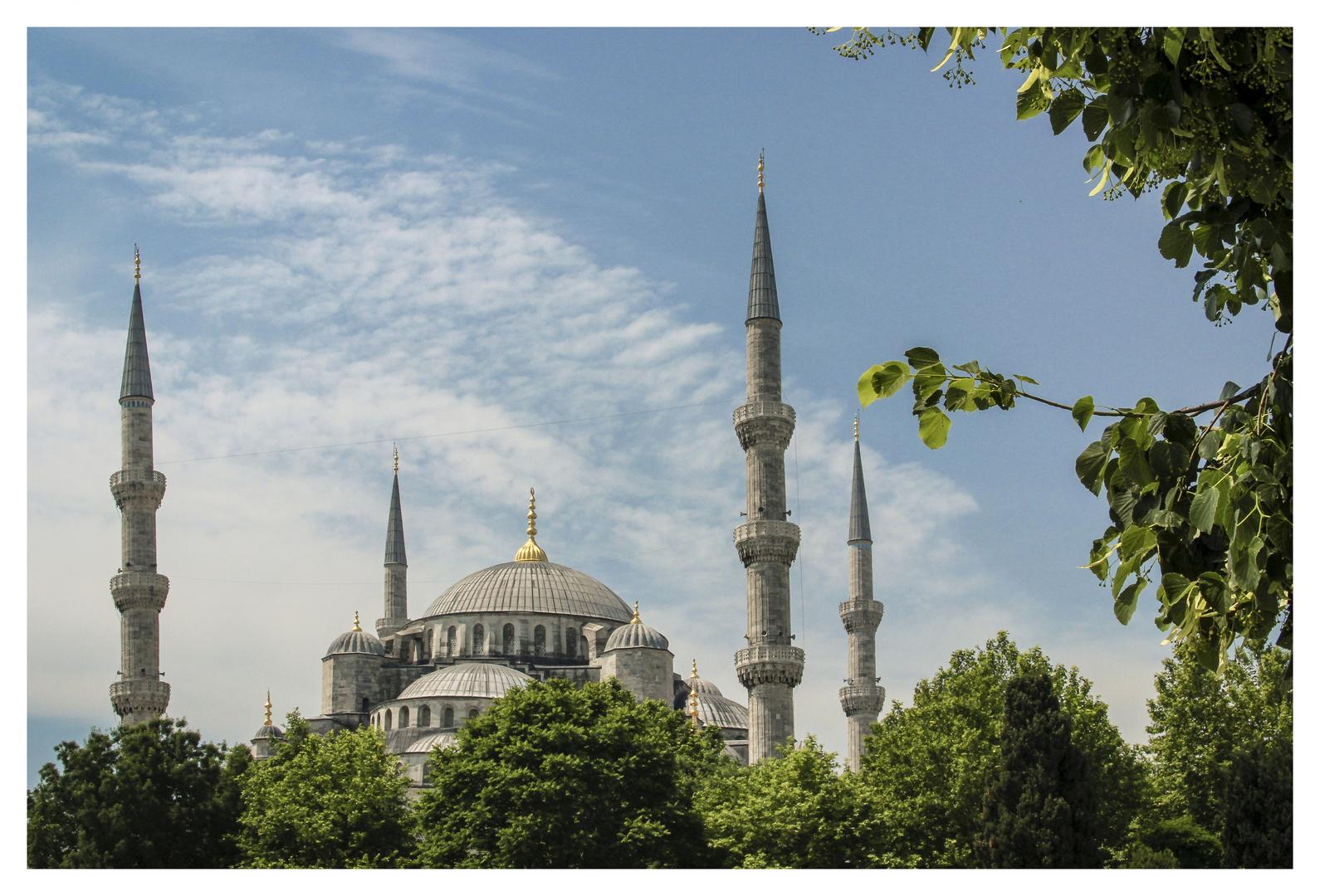 Blaue Moschee oder Sultan-Ahmed-Moschee #2