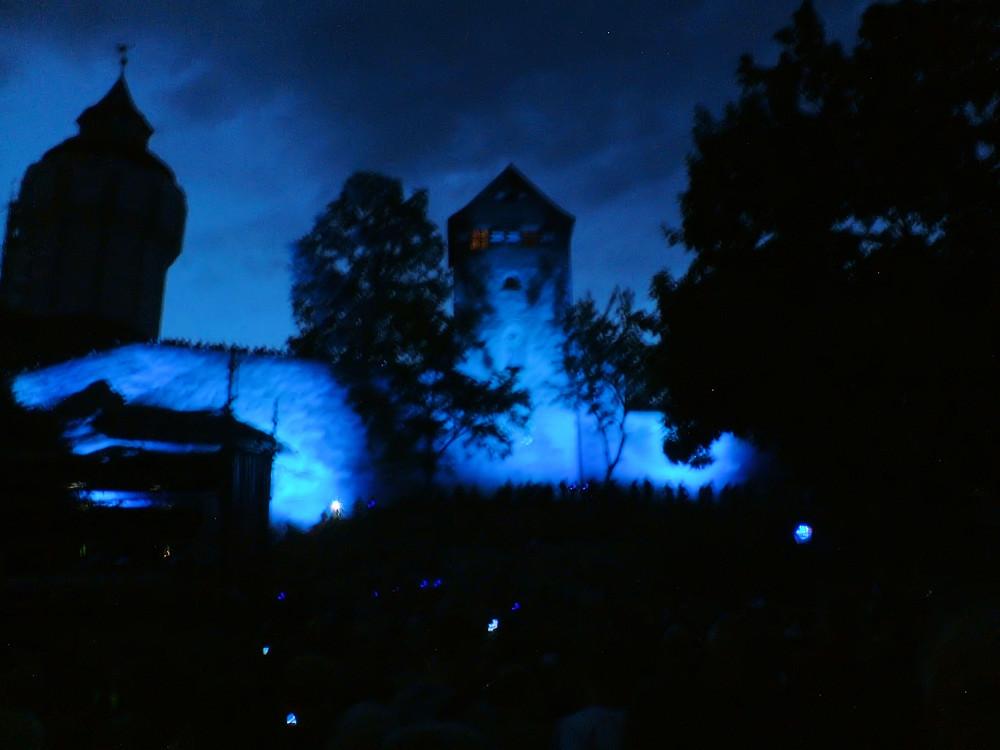 Blaue Nacht - Kaiserburg Nürnberg