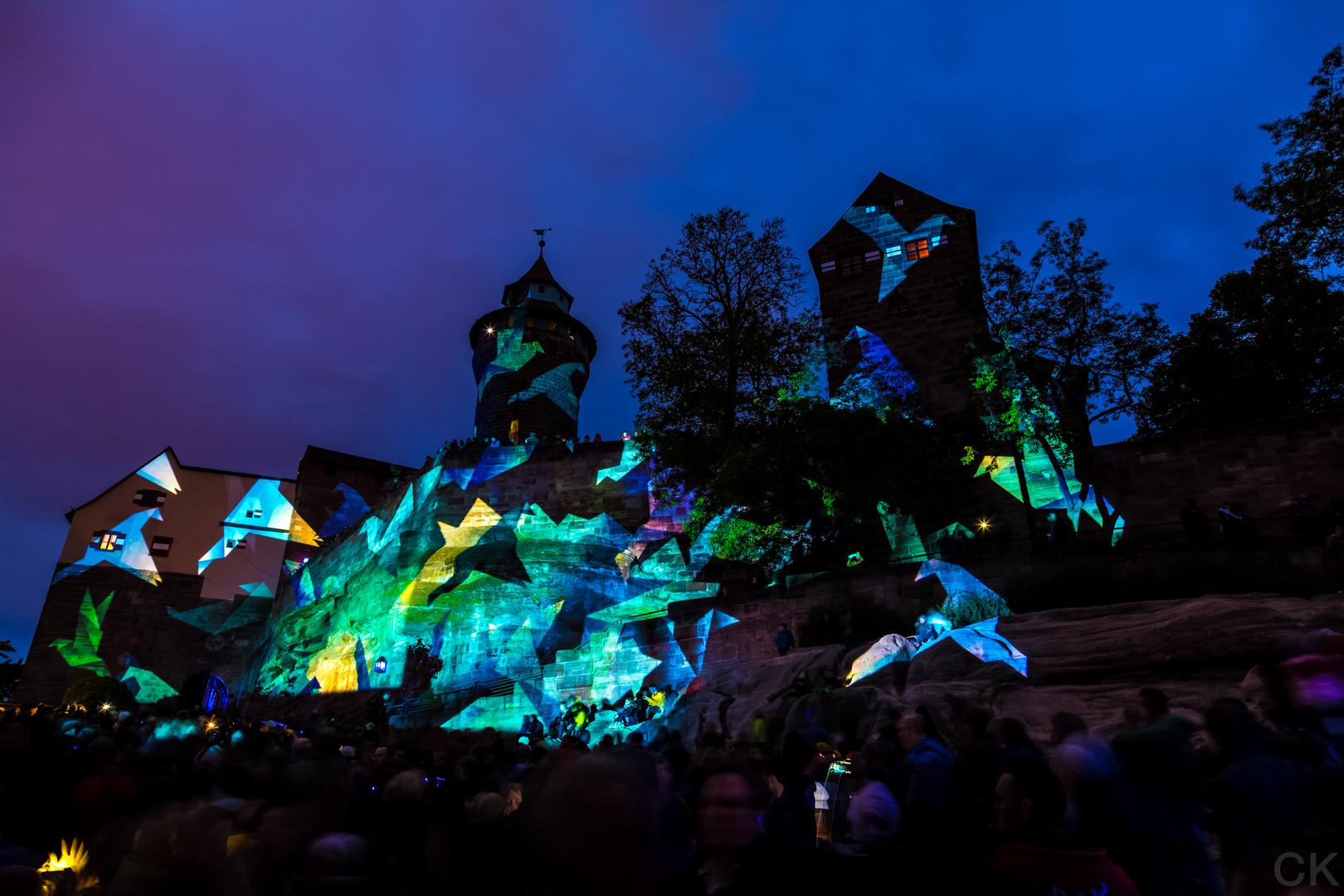 Blaue Nacht Nürnberg 2014: Burg