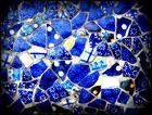 Blaue Scherben