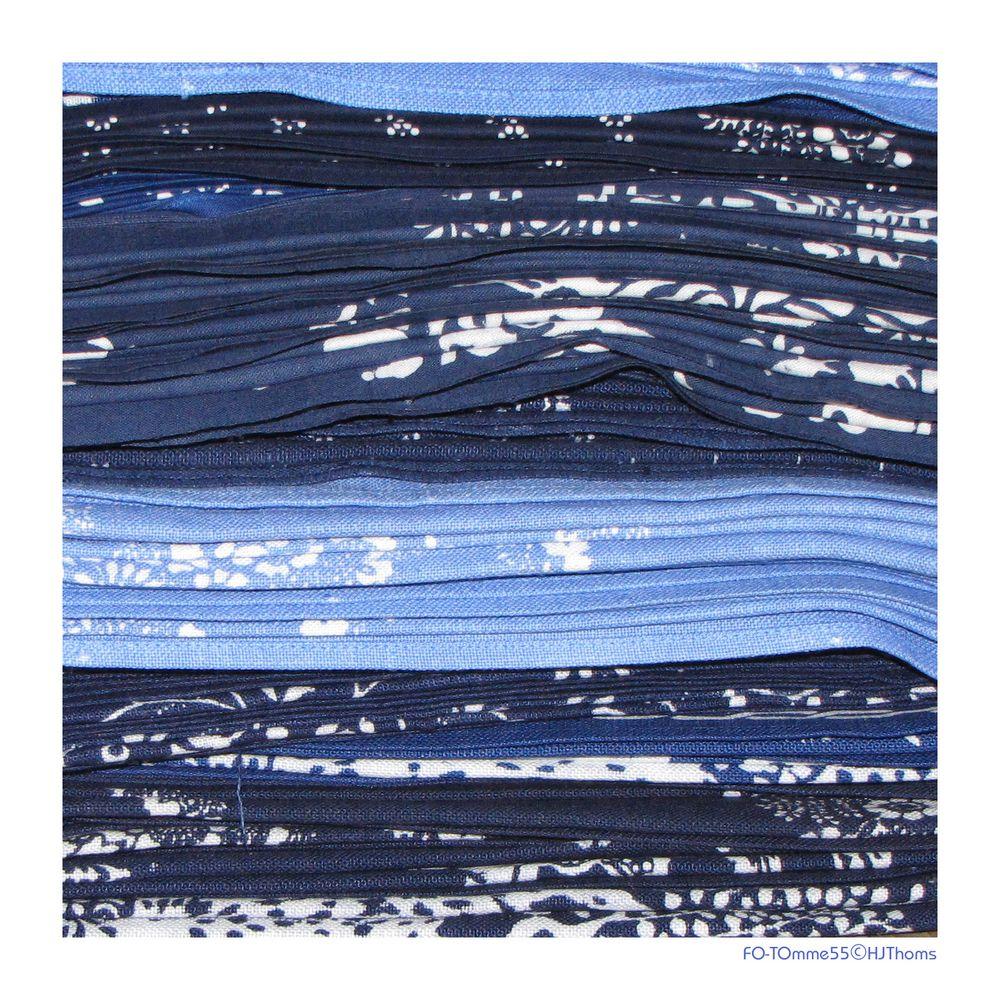 Blaue Schichten