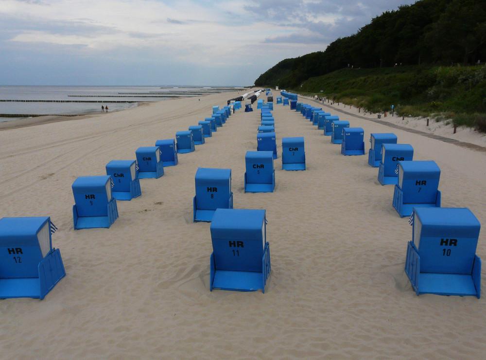 blaue Strandkörbe2
