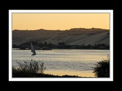 Blaue Stunde am Nil