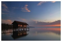blaue Stunde am See.........