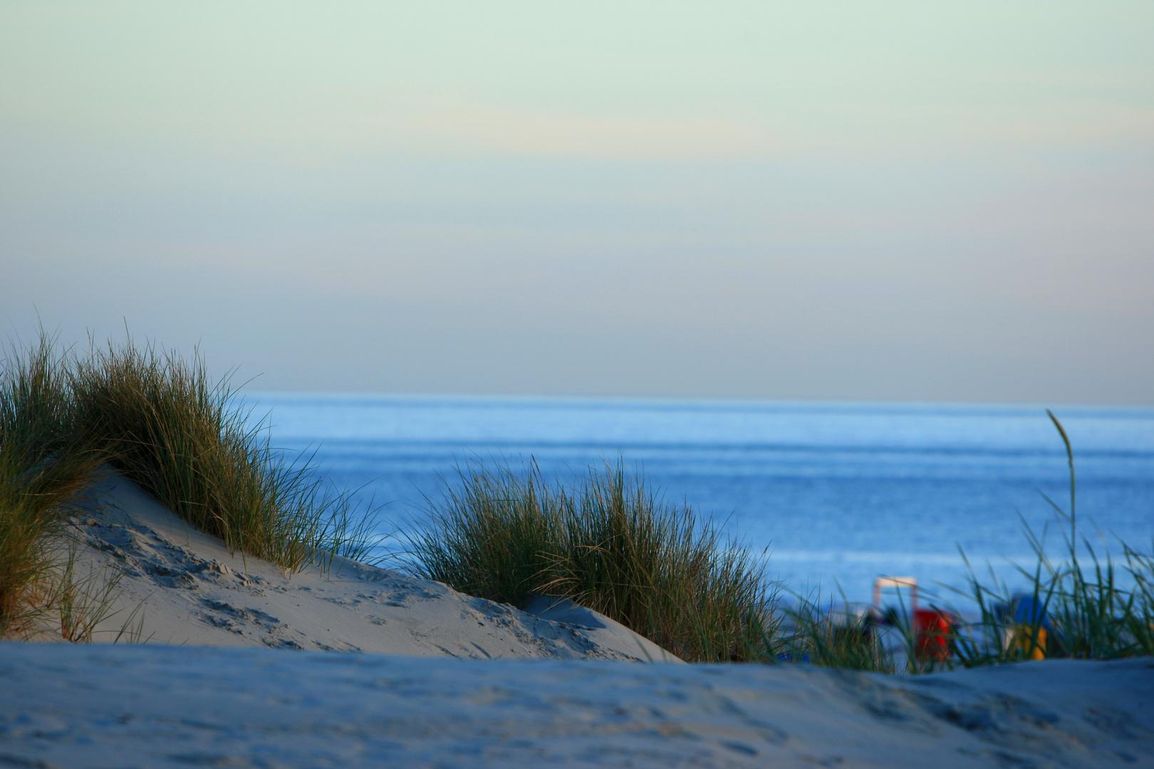 Blaue Stunde am Strand von Borkum II