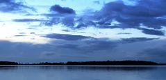 blaue Stunde an der Goitzsche