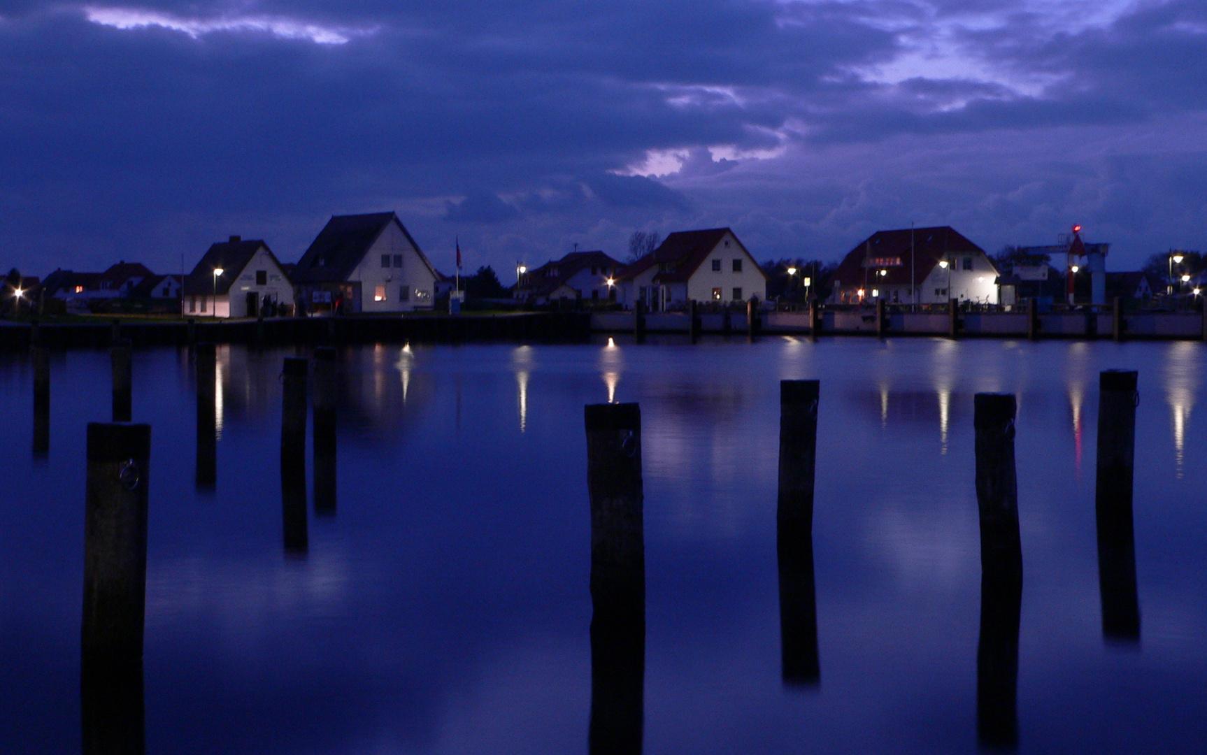 blaue Stunde auf Hiddensee