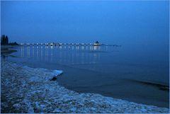 Blaue Stunde auf Usedom
