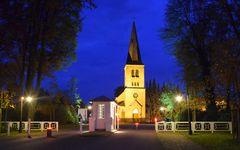Blaue Stunde in Bad Driburg