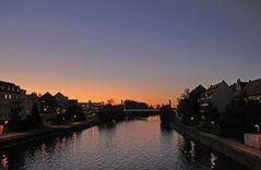 Blaue Stunde in Bamberg