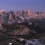 *blaue Stunde in den Dolomiten*