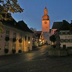 Blaue Stunde in der Altstadt