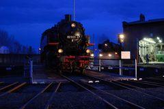Blaue Stunde in Hilbersdorf ...