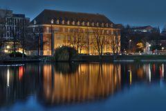 Blaue Stunde in Kiel