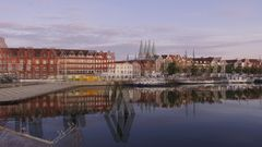 Blaue Stunde in Lübeck 12 (3D)