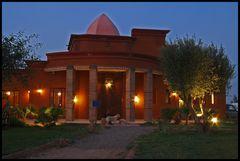blaue Stunde in Marrakech
