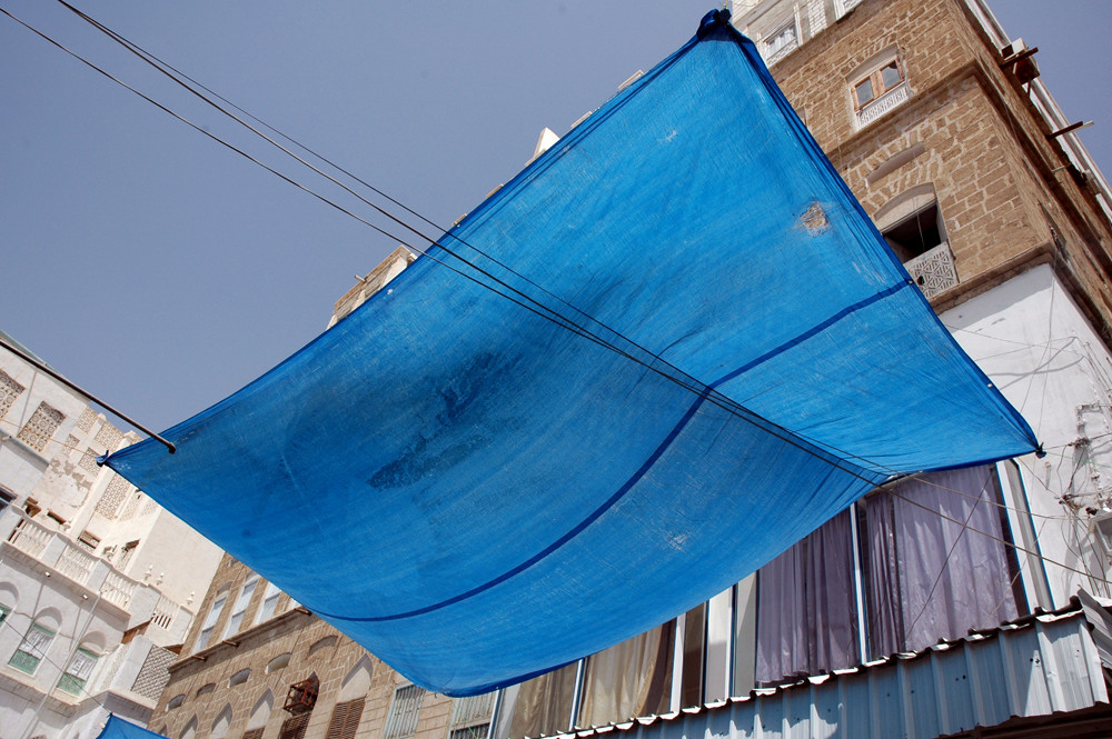 Blaue Stunde in Mukalla