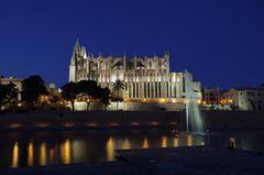 blaue Stunde in Palma
